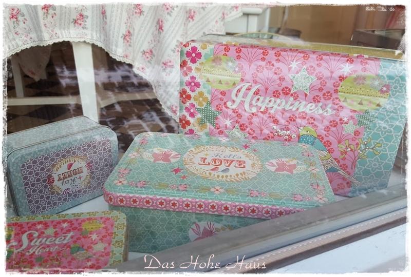 das hohe haus zeitlos sch n wohnen aufbewahrung dosen set happiness. Black Bedroom Furniture Sets. Home Design Ideas